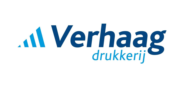 Verhaag drukkerij logo