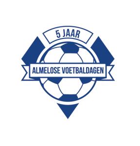 Logo Almelose Voetbaldagen 5 jaar